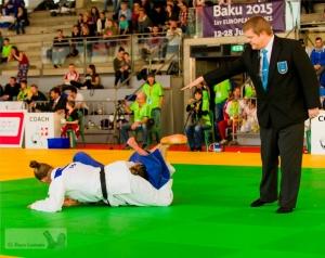 Juliane Robra à l'Open Suisse de judo - 8 mars 2015