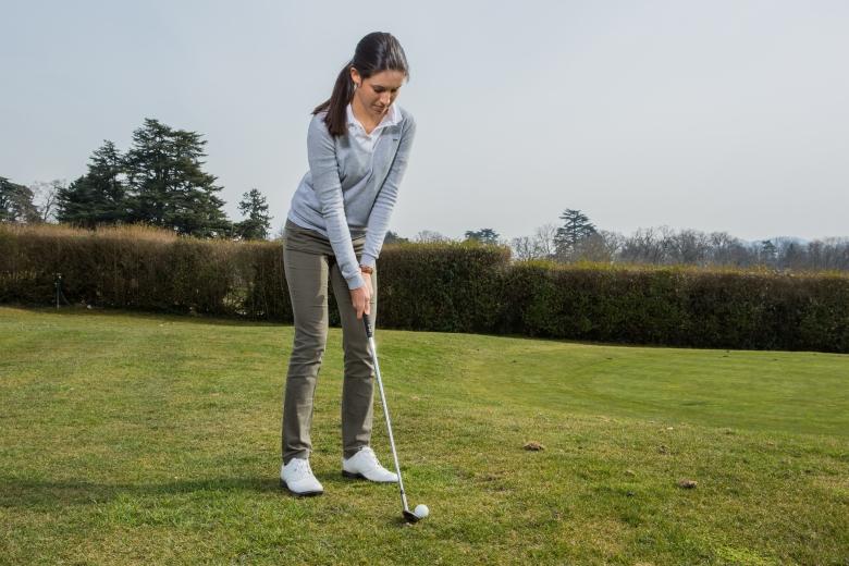 La golfeuse Albane Valenzuela s'est qualifiée pour le tournoi Solheim Junior. Le golfeuse de Team Genève avance droit vers son but!