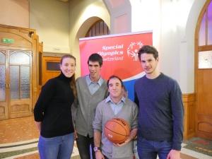 Soirée Starlette - Swann et Lucas en compagnie des athlètes de Special Olympics Switzerland